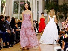 In transition, Oscar de la Renta presents a team effort at New York Fashion Week