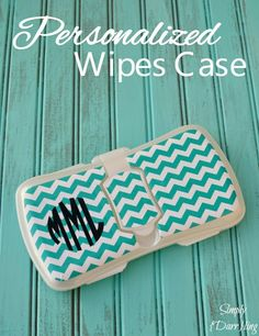 Personalized Wipes Case DIY Vinyl