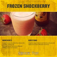 Frozen Shockberry Lemonade