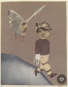 Hannah Hoch, Flight, 1931