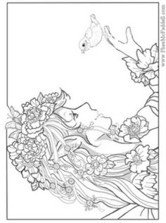 Phee McFaddell Artist another one of my favourites free coloring page
