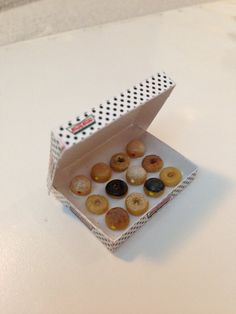 1:12 scale // Dollhouse Miniature Food  Krispy  Kreme by luluminiatures, $25.00