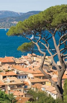 SAINT-TROPEZ, FRANCE The scenic village of Saint-Tropez, on the coast of Provence.