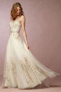 BHLDN Heidi Gown in  Bride Wedding Dresses at BHLDN