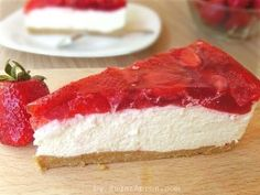 I'm sure you're not too terribly surprised, Yup, Cheesecake is one of my great loves. Given the choice between it and a myriad of other desserts, I will choose cheesecake everyday and twice on Sunday. And it's all here, no fancy embellishments, just a humble graham cracker crust, creamy cheesecake and strawberry glaze. This is …