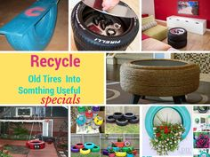 If you are looking for how to recycle old tires tutorials then don't go anywhere. We have a cool collection to show you how to convert old tires into home decor or beautiful garden decor.