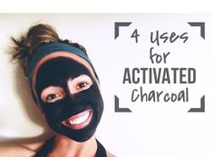 4 uses for activated charcoal - (face mask, pimple spot treatment, bug bites, and teeth whitener) (Diy Face Whitening) Activated Charcoal Face Mask, Uses For Activated Charcoal, Limpieza Natural, Spot Treatment, Beauty Recipe, Belleza Natural, Health And Beauty Tips, Homemade Beauty, Skin Care
