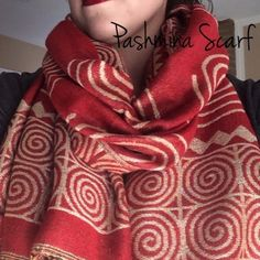 Red & Gold Pashmina Scarf Beautiful red and shimmering gold scarf/wrap in excellent condition. Used only once. 55% Pashmina 45% Silk. TradePP↪️Fast ShippingBundle Discounts Accessories Scarves & Wraps