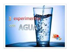 (126) 3 experimentos con agua para niños - YouTube