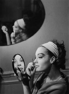 Portrait of Romy Schneider by Luc Fournol, 1960's