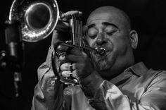 Stephane Belmondo at Jamboree jazz club of Barcelona.