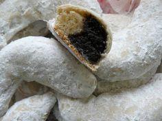 Hókifli (omlós) Biscotti, Panna Cotta, Cake Recipes, Delish, Cupcake, Deserts, Sweets, Cookies, Baking