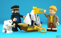 LEGO Tintin - Secret of the Unicorn   Tintin, Snowy and Capt…   Flickr