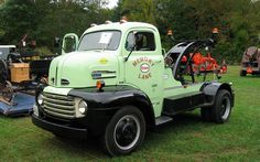1948 Ford Cabover Wrecker
