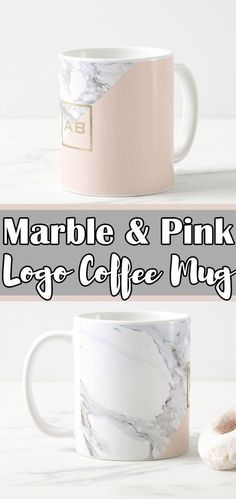 I love marble and pink office decor. It's so modern and Scandinavian looking! This mug would be a divine desk accessory and perfect for my morning coffee. Can't start a day without one!! #ad #coffeemug #officedecor #marble