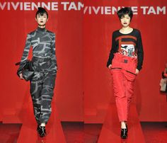 (6) VIVIENNE TAM - Mercedes-Benz Fashion Week Tokyo: Japan Fashion Week: Denim & Jeanswear 2013-2014 Fall Winter Womens Runways I