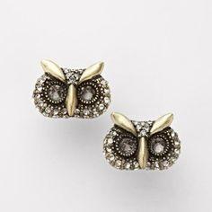 owl eyes earrings!