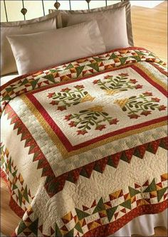 A Summer Medley Quilt Pattern Pieced/Applique SH Colchas Quilting, Quilting Projects, Quilting Designs, Amish Quilts, Barn Quilts, Medallion Quilt, Quilt Border, Applique Quilts, Quilt Tutorials