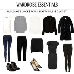 simple work wardrobe women - Google Search