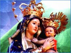 María Santísima de la Abundancia,  Madre amada de Jesús y de los hombres,   Reina del cielo y de la tierra,   desde vuestro trono...