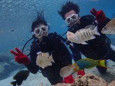 海の中気持ちよかったですね~^^! - http://www.natural-blue.net/blog/info_4658.html