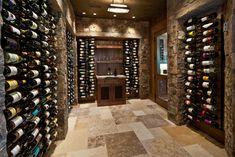 162 white pine - new build - traditional - wine cellar - salt lake city - Jaffa Group Design Build