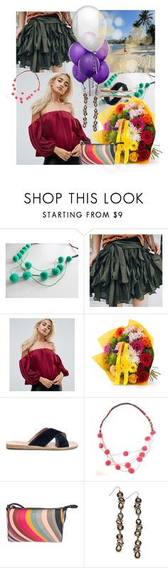 """""""144"""" by tezart2 ❤ liked on Polyvore featuring ASOS, Ancient Greek Sandals, Paul Smith and Thalia Sodi"""