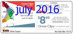Free Printable Coupons: Great Clips Coupons Great Clips Coupons, Free Printable Coupons, Coupon Codes, Coding, Programming