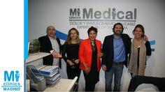 Toño Vera, director de comunicación de Visionary, con Javier Hidalgo, Director Médico de Mi Medical, María José Urraca, directora de eventos, y amigas.