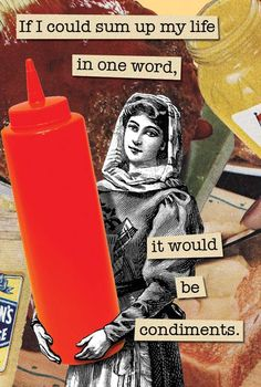 I Love Condiments  Magnet by franticmeerkat on Etsy, $4.50