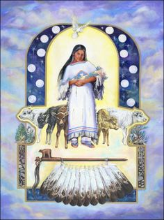 Spirit of the Lake People: White Buffalo Calf Woman Called the Mother of Life, Swelling Mountain Calling Comes to Bring the Story