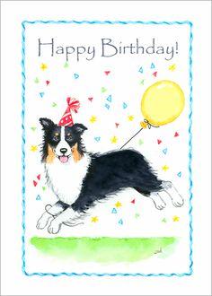 Happy Birthday Dog, Happy Birthday Photos, My Best Friend, Best Friends, Birthday Cards, Birthday Memes, Birthdays, Dogs, Australian Shepherds