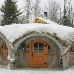 Hobbit Home Quebec. Here's some inspiration for your real estate dreams! If you or someone you know is planning to buy or sell in the near future and wants to work with a results-driven Realtor dedicated to providing his clients with up-to-date market information, please contact me today. Visit: www.4salebyandy.com for recent sales, testimonials & more.