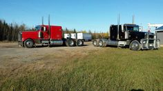 2 2003 freightliners