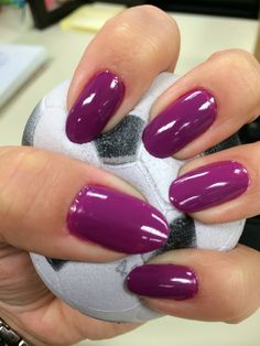 Sally Hansen (purple rosy) Nails 2013 oval nails