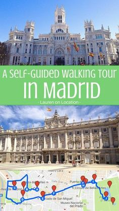 Want to explore Madrid on foot? Here's a self-guided walking tour! madridfoodtour.com