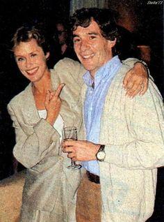 Ayrton Senna Magic Immortal: Ayrton Senna e a modelo e atriz americana Lauren…