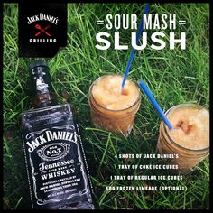 Knock summer out cold. #JackDaniels #drinkrecipes #drinks #cocktails #whiskey