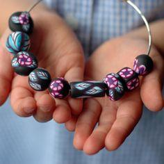 polymer clay beads | Rachel D Warren - Polymer Clay Beads