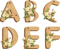 Printable alphabet - this one is just darling Printable Letters, Printable Labels, Printable Paper, Free Printables, Arts And Crafts, Paper Crafts, Diy And Crafts, Decoupage, Schrift Design