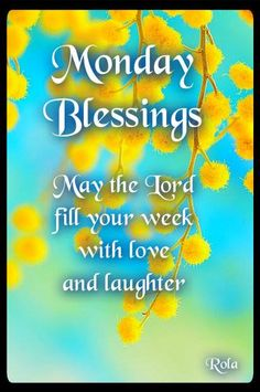 Monday morning blessings <3