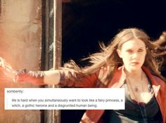 Text messages from the Avengers: Scarlet Witch - She pulls it off nicely though
