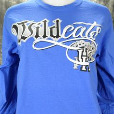 University of Kentucky Wildcat  Bling  T-Shirt