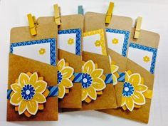 Stampin' in the Sun!: April Paper Pumpkin.. Gift Card Holders