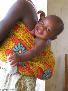 Beautiful baby face.