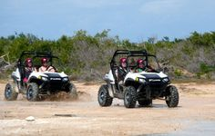 Feel the thrill of driving a dune buggy around the island - Grand Turk style.