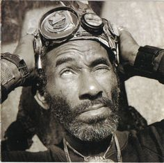"Lee ""Scratch"" Perry Reggae music producer I love love love"