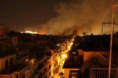 El gobierno provincial aún no se informó si hay víctimas fatales. Las construcciones cercanas presentan daños.