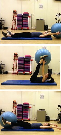 Full Body Muscle Toning with Stability Ball Workout