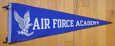 Air Force Academy College Vault pennant #CollegeVault #AirForce